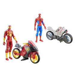 Spiderman figurine 30 cm et son véhicule