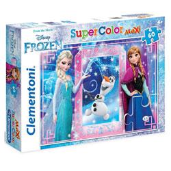 Puzzle 60 pièces La Reine des Neiges
