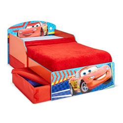 Lit enfant P'tit Bed Classique Cars avec rangements