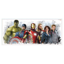 Sticker géant repositionnable Avengers