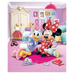 Fresque murale Minnie