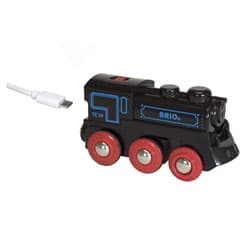 Brio 33599-Locomotive rechargeable