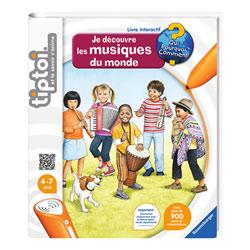 Tiptoi - Livre interactif - musiques du monde
