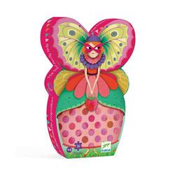 Puzzle 36 pièces demoiselle papillon
