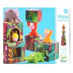Maxi Topanijungle - Cubes empilables