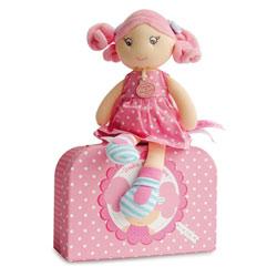 Poupée Demoiselle Brin de Folie Rose Bonbon 28 cm