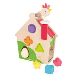 Maison d'activités poulette