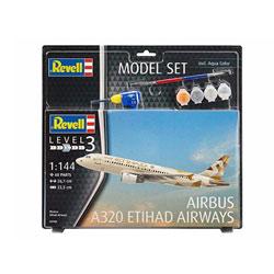 Maquette avion Airbus A320 Etihad Airways