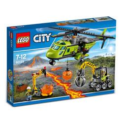60123-L'hélicoptère d'approvisionnement du volcan