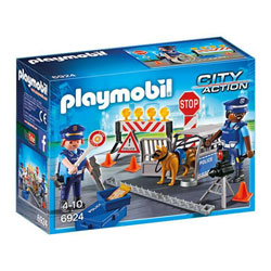 6924 - Barrage de Police - Playmobil City Action