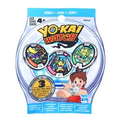Yo-Kai Watch-Sachet 3 médailles
