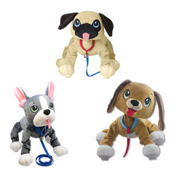 Les Peppy Pups toufous - Chien assortiment