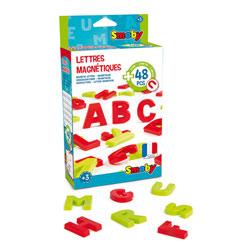 48 lettres magnétiques