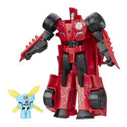 Transformer Rid Power Heroe Sideswipe