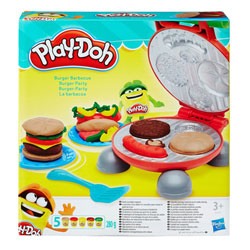 Pâte à modeler - Burger Party Play-Doh Kitchen