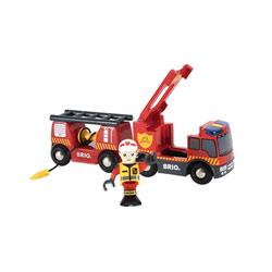 Brio-Camion de pompiers son et lumiere