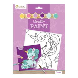 Graffy paint licorne