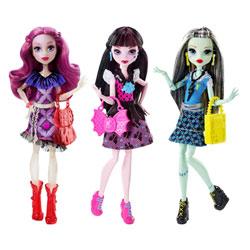 Monster High poupée Goule signature