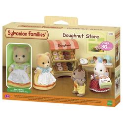 Sylvanian Families - 5239 - Le stand de donuts et figurine