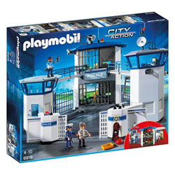 6919 - Playmobil City Action - Commissariat de police avec prison