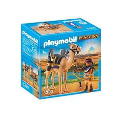 5389-Combattant égyptien avec dromadaire - Playmobil History