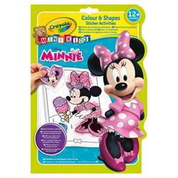 Album coloriage et autocollants Minnie