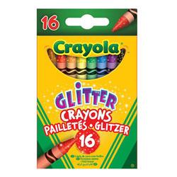 Crayons de cire pailletés