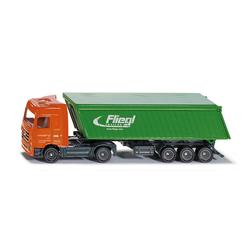 Camion avec benne basculante