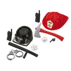 Set de jeu : pompier, militaire ou policier