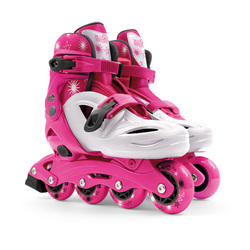 Rollers rose taille 26-30