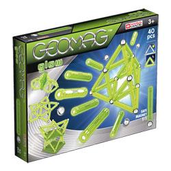 Coffret Geomag Glow 40 Pièces