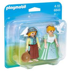6843-Princesse et servante - Playmobil Princess