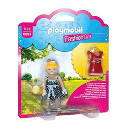 6883-Fashion girl tenue rétro - Playmobil Fashion Girl