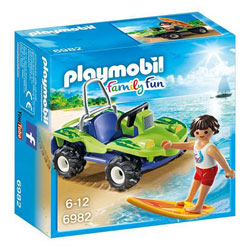 6982 - Surfer Et Buggy - Playmobil Family fun