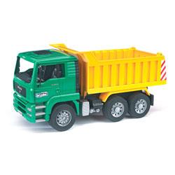 Camion MAN à benne basculante