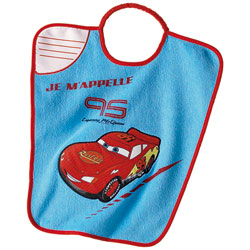 Bavoir Maternelle Cars
