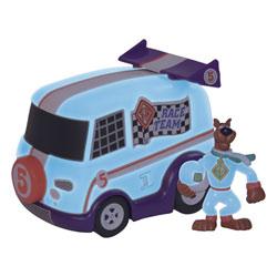Véhicule Fluorescent Race Team ScoobyDoo avec 1 figurine