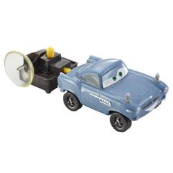Véhicule à propulseur Cars 2 Finn Mcmissile