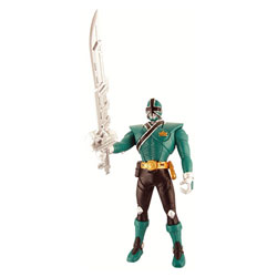 Figurine Auto-Transformable Power Rangers Vert