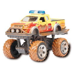 Rallye Monster 15 cm Jaune
