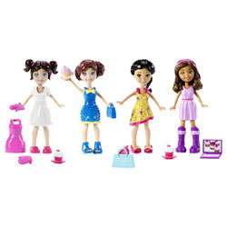 Coffret Polly Pocket et ses amies Cupcake Party