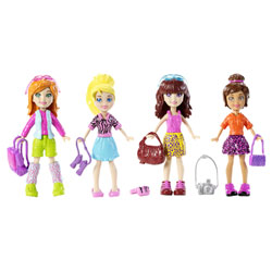 Coffret Polly Pocket et ses amies Safari Adventure