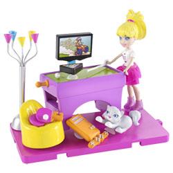 Polly et sa salle de jeux