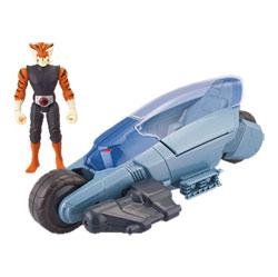 Thundercats vehicule et figurine ThunderRacer et Tygra