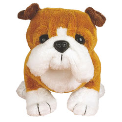 Peluche Webkinz (grand modèle) Bulldog