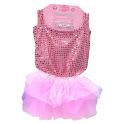 Tutu paillettes Rose