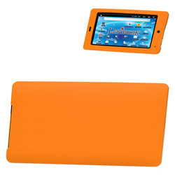 Pochette de protection silicone Orange