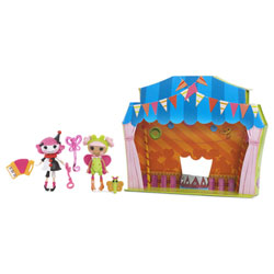 Mini Lalaloopsy Fun House Poupées Blossom & Charlotte