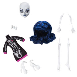 Monster High Créa'terreur La Recharge Skeleton