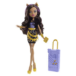 Monster High - Poupées Goules en vacances Clawdeen Wolf